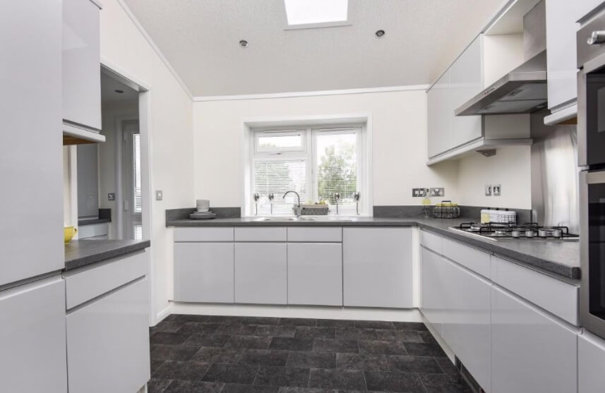 Kitchen in Residential park home available now